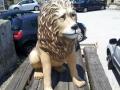 lion animaux en résine classique  002