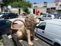 lion animaux en résine classique  003