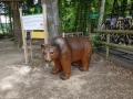 ours en résine classique  004