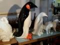 pingouin en résine classique  008