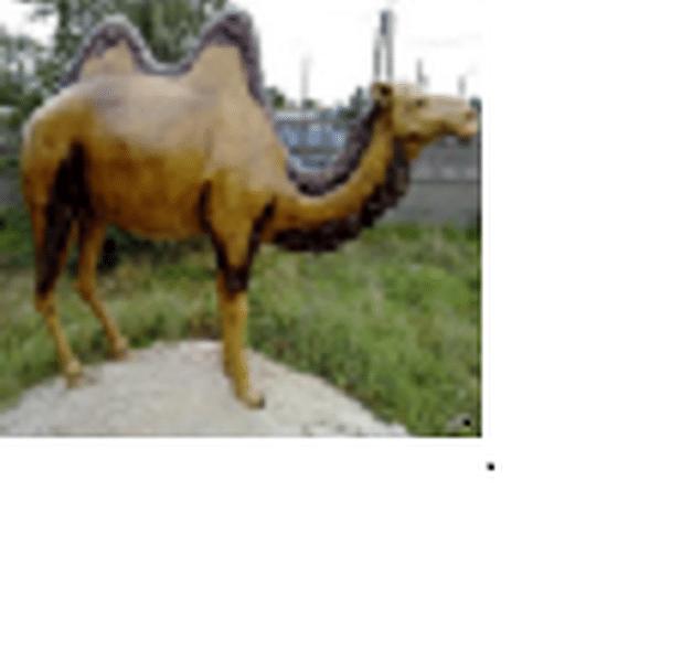 Dromadaire chameau animaux en résine classique 009