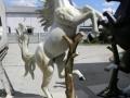 cheval en résine A1635 design 001