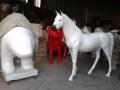 cheval en résine A709 design 005
