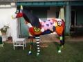 cheval en résine A709e design 016