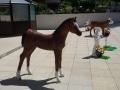 cheval en résine design 012