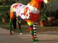 cheval en résine design 015