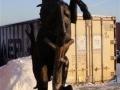 cheval en résine design 038