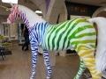 cheval licorne en résine A709  design 026
