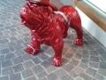 chien chat en résine design 001
