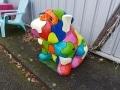 chien chat en résine design 008