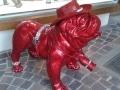 chien chat en résine design 009