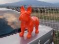 chien chat en résine design 015