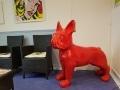 chien chat en résine design 018