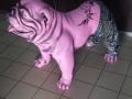 chien chat en résine design 026