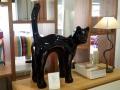 chien chat en résine design 088