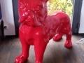chien chat en résine design 096
