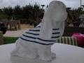 chien chat en résine design 113
