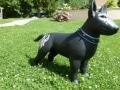 chien chat en résine design 119