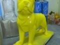 chien chat en résine design 136
