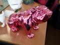 chien chat en résine design 141