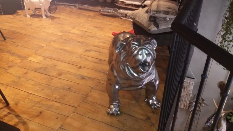 chien chat en résine design 065
