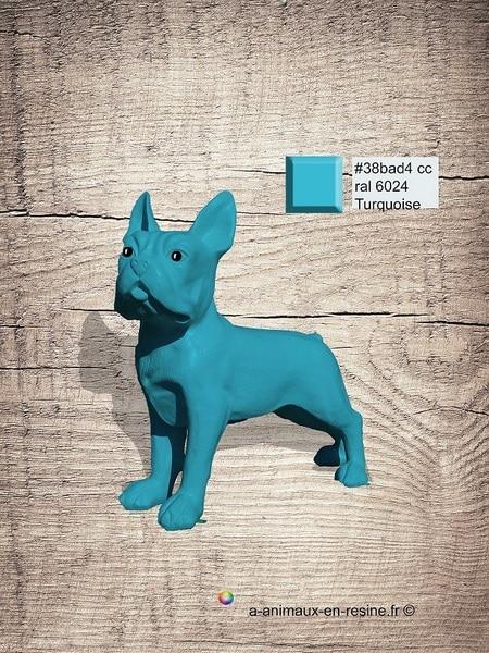 chien chat en résine design 130