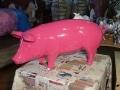 cochon en résine design 005