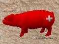 cochon en résine design 011