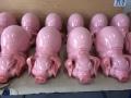 cochon en résine design 018