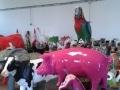 cochon en résine design 019