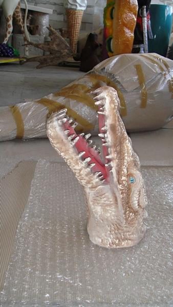 Crocodile animaux en résine classique  053