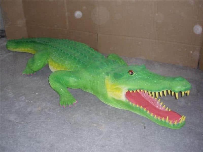 Crocodile animaux en résine classique  057