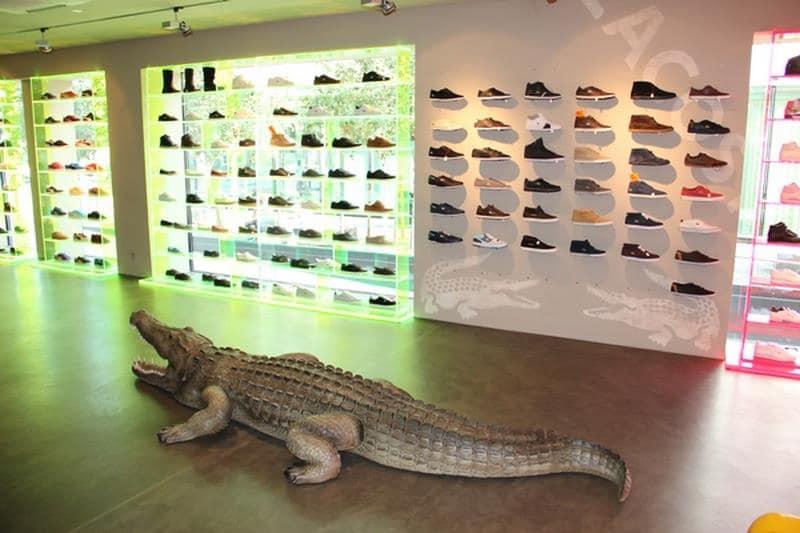 Crocodile animaux en résine classique  055