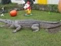 Crocodile animaux en résine classique  041