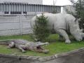 Crocodile animaux en résine classique  051
