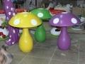 champignon fruit légume en résine design  022