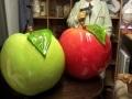 pomme fruit légume en résine design  001