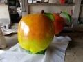 pomme fruit légume en résine design  009