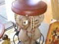 siège éléphant objet en résine design 050