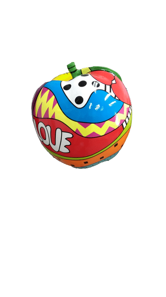 pop art créations en résine design Fr 347c