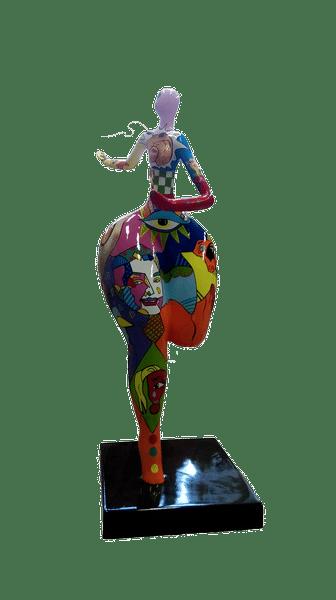 pop art créations en résine design Fr 352b