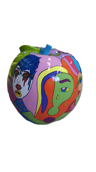 pop art créations en résine design Fr 358 (3)