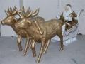 Noël animaux  et objets en résine location event 031