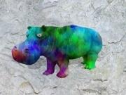 Hippo   en resine design