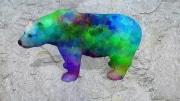 ours fleur   en resine design