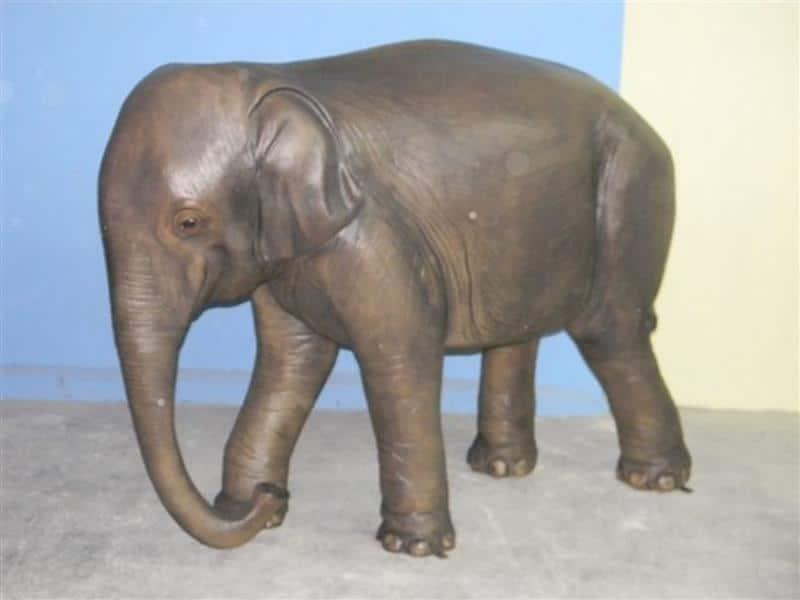 Eléphant animaux en résine classique  078