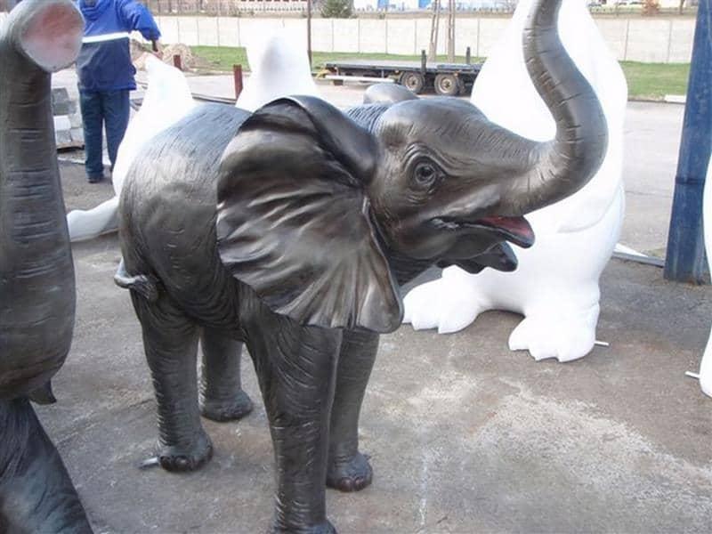Eléphant animaux en résine classique  106