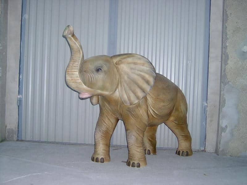 Eléphant animaux en résine classique  100
