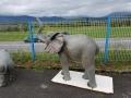 Eléphant animaux en résine classique  071