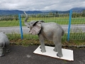 Eléphant animaux en résine classique  072